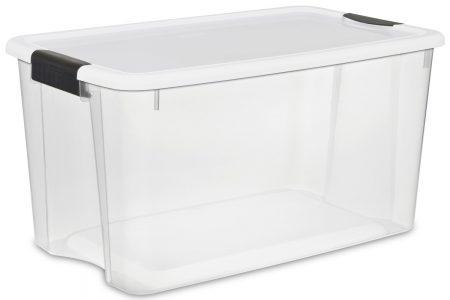 picture of Sterilite 70 Quart Storage Boxes, 4 Pack Sale