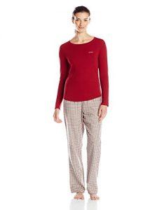 picture of Calvin Klein Women's Flannel Pajama Set Sale