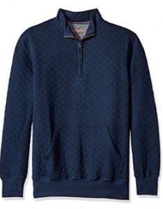 picture of Weatherproof Vintage Men's Quilted Quarter Zip Sweater