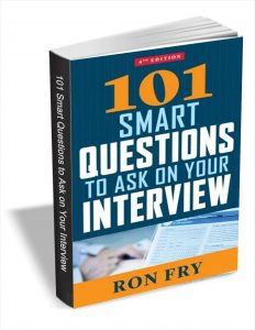 picture of Free 101 Smart Questions to Ask on Your Interview eBook