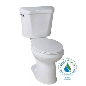 picture of Glacier Bay 2-piece High Efficiency Round Toilet Sale
