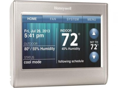 picture of Honeywell 7-Day 9580 Color Touchscreen Programmable Wi-Fi Thermostat Sale