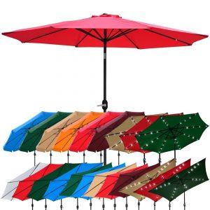 picture of Outdoor Patio Aluminum Umbrella Sale