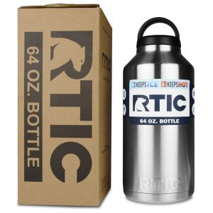 picture of RTIC Stainless Steel Bottle (64oz) Sale