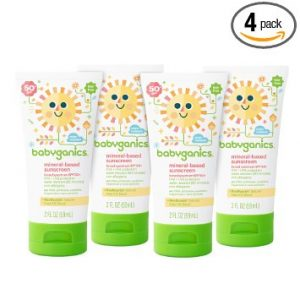 picture of Babyganics Mineral-Based Baby Sunscreen Lotion, SPF 50 Sale