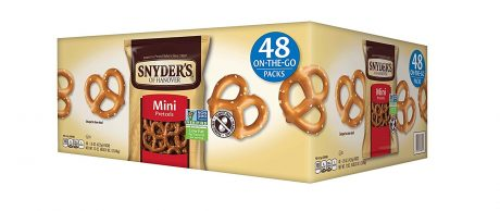 picture of Snyders of Hanover Pretzel 48 Count 1.5oz
