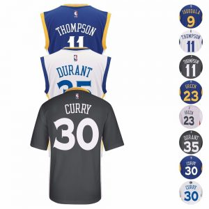 picture of 2016-17 Golden State Warriors ADIDAS NBA Replica Player Jersey Sale