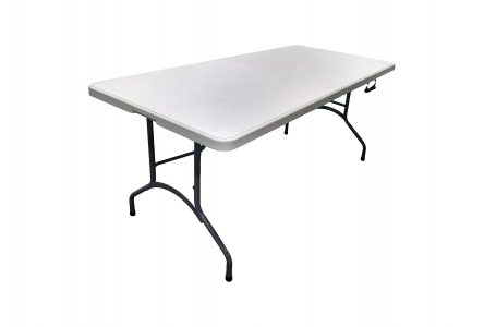picture of 6ft Plastic Folding Banquet Table Sale