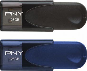 picture of PNY 128GB Attache USB 2.0 Flash Drive 2pk Sale