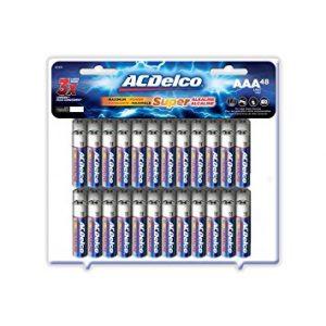 picture of ACDelco Super Alkaline AAA Batteries, 48-Count