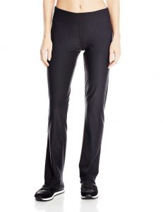 picture of adidas Womens CLIMALITE Straight Workout Pant Athletic Yoga Black Leggings