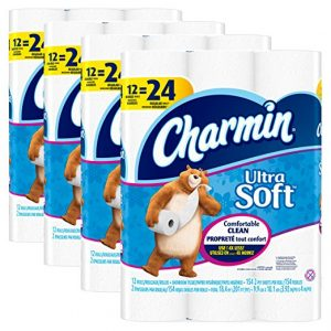 picture of Charmin Ultra Soft Toilet Paper, Bath Tissue, Double Roll, 48 Count