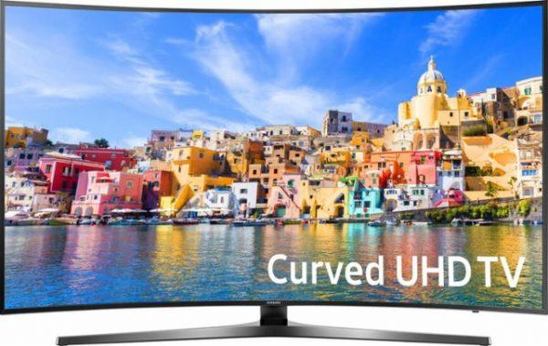 Samsung 43″ LED 4K Curved Smart TV Sale $599 99 43KU7500