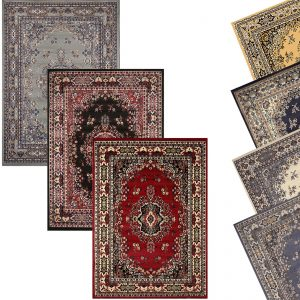 picture of Traditional Oriental Medallion Area Rug Persian Style Carpet Runner Mat Sale