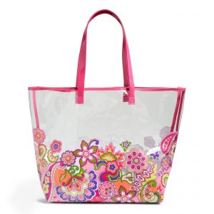 picture of Vera Bradley Clearly Colorful Tote Bag Sale