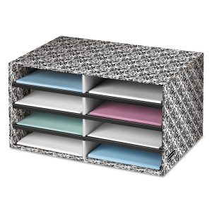picture of Bankers Box Decorative Eight Compartment Sorter Sale