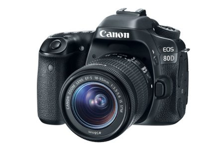 picture of Canon EOS 80D 24Mpixel Refurbished Wi-Fi DSLR with 18-55mm Lens Sale