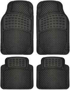 picture of Car Floor Mats - All Weather Heavy Duty Rubber 4pc Set Sale