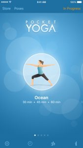 picture of Free Pocket Yoga iOS App