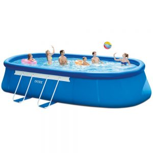 picture of Intex 20ft X 12ft X 48in Oval Frame Pool Set Sale