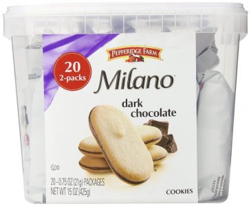 picture of Expiring Today: Pepperidge Farm Milano Cookie Tub, 20 2pks Sale