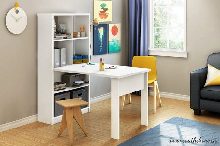 picture of South Shore Annexe Craft Table and Storage Unit Combo Sale