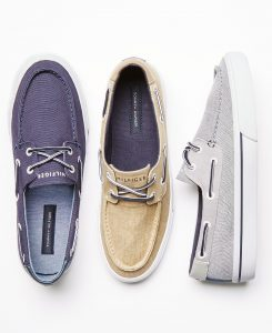 picture of Tommy Hilfiger Men's Pharis Canvas Boat Shoes