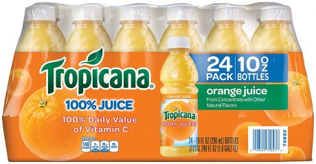 picture of Tropicana Orange Juice, 10 Ounce (Pack of 24) Sale