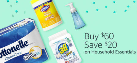 picture of $20 off $60 in Household Essentials