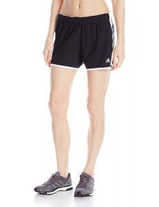 picture of adidas Women's Climalite Ultimate Woven 3 Stripe Shorts Sale