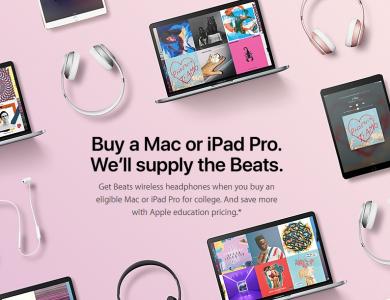 picture of Buy a MacBook, iMac or iPad Pro - Free Wireless Beats Studio 3