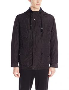 picture of Cole Haan Men's Oxford Nylon Hooded Parka Sale