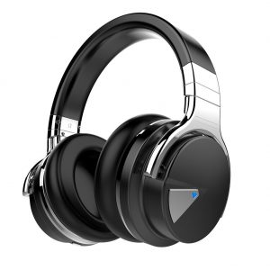 picture of Expiring Today: Cowin E7ANC Active Noise Cancelling Wireless Bluetooth Over-ear Stereo Headphones
