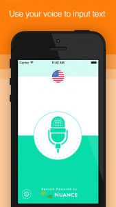 picture of Free Active Voice : Speech-To-Text iOS App