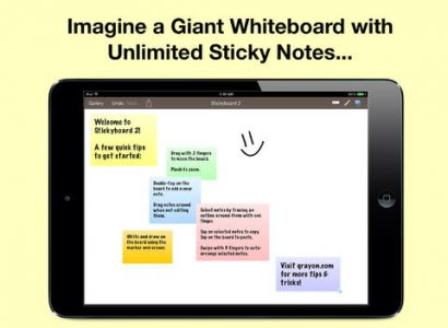 picture of Free Stickyboard 2 iOS App