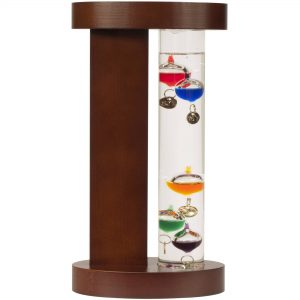 picture of AcuRite Galileo Thermometer with Wood Stand Sale