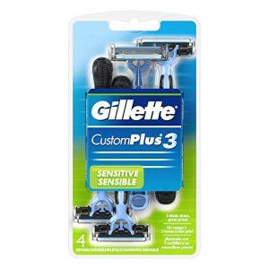 picture of Gillette Customplus 3 Men's Disposable Razor 4pk Sale