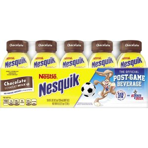 picture of Nesquik Ready To Drink Milk, Chocolate, 8 Ounce., 10 Count Sale