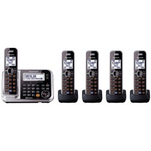 picture of Panasonic KX-TG7875S Link-to-cell Bluetooth Cordless Phone Sale