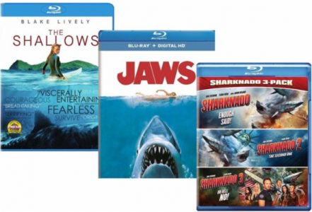 picture of Shark Week 33-66% off Select Jaws and Other Shark Movies