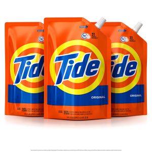 picture of Tide Smart Pouch Original Scent HE Turbo Clean Liquid Laundry Detergent Sale