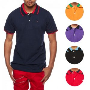 picture of Tommy Hilfiger Men's Custom Fit Premium Polo Sale