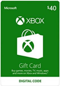 picture of 10% off select Microsoft Xbox Digital Gift Cards