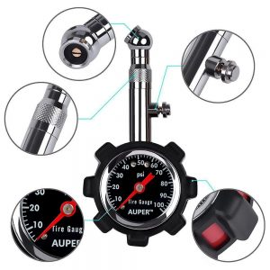 picture of Auper High Accuracy Tire Pressure Gauge Sale