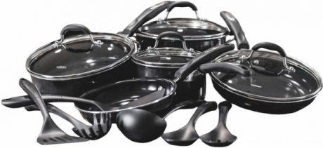 picture of Cuisinart Pro 15-piece Ceramic-Coated Cookware Sale