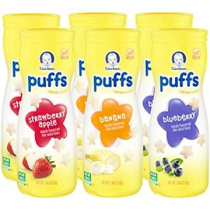 picture of Gerber Graduates Puffs Cereal Snack 6pk Sale