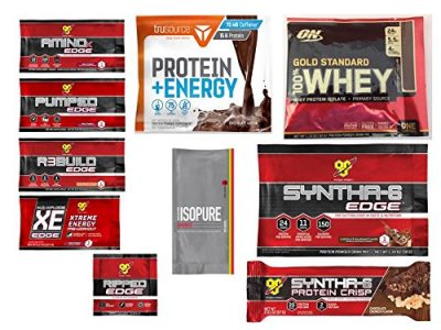 picture of Optimum Nutrition Sample Box, 8 samples ($7.99 Credit with Purchase)