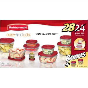 picture of Rubbermaid 28-Piece Easy Find Lids Set Sale