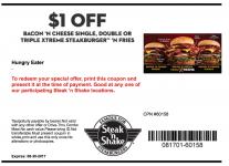 Steak n Shake Coupon