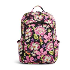 5e8234702089 Vera Bradley Factory Exclusive Laptop Backpack Sale  49.99 + Free Shipping